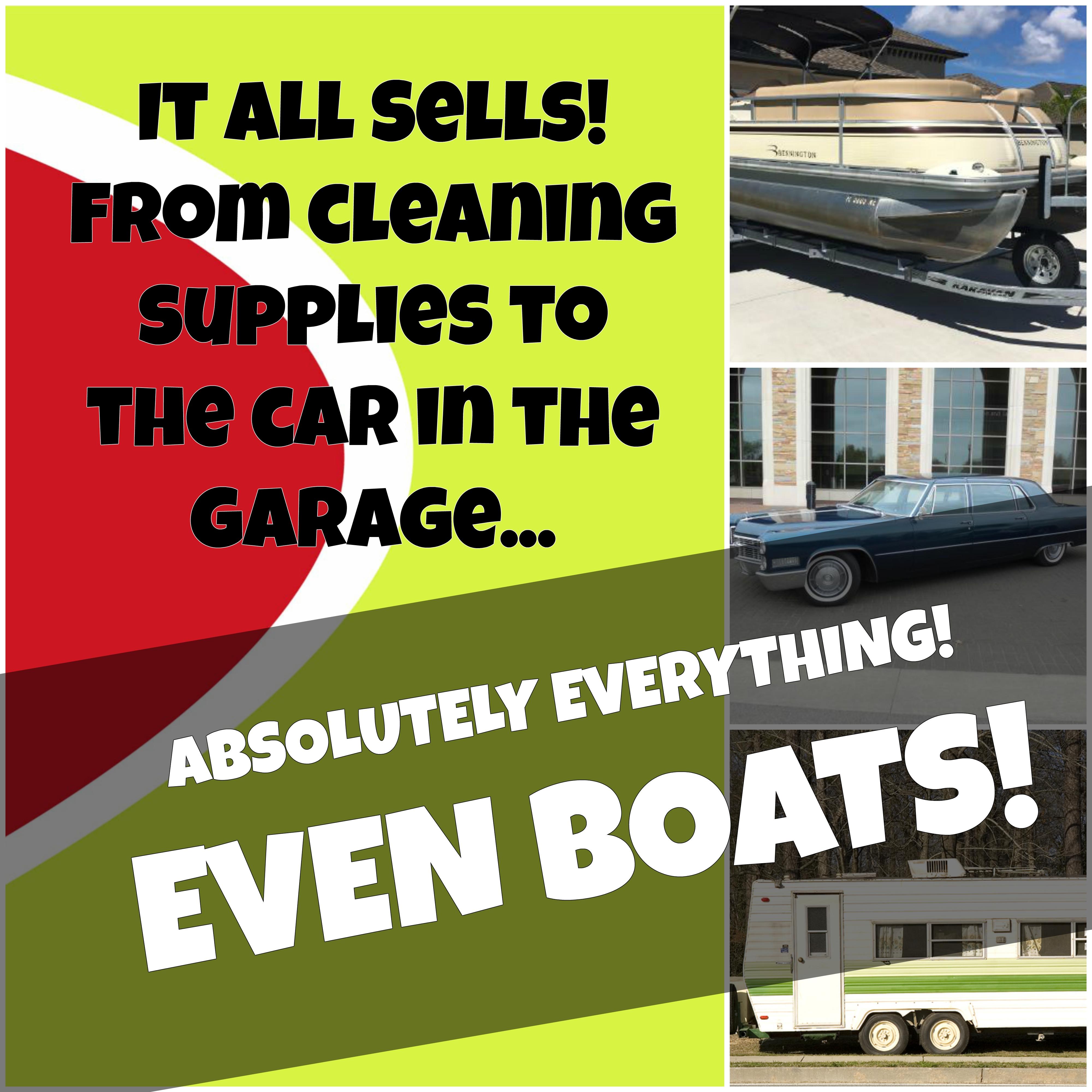 Decades Estate Sales boats